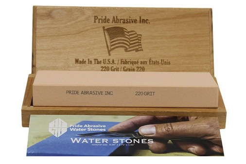 Pride Abrasive 220 Grit Water Stone