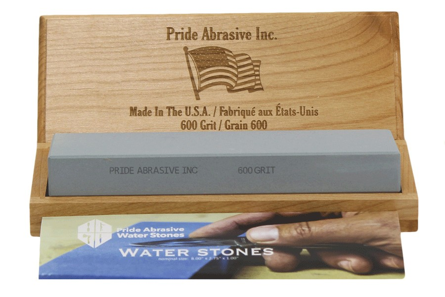Pride Abrasive 600 Grit Water Stone