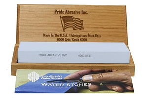 Pride Abrasive 6000 Grit Water Stone