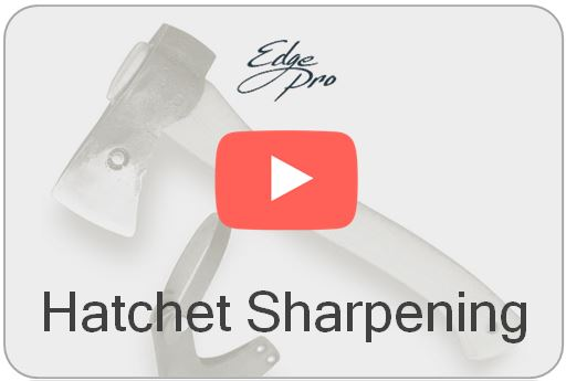 Wicked Edge Video How to Sharpen a Hatchet
