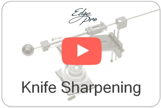 Wicked Edge Video Sharpen Large and Small Knives