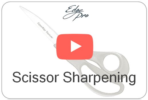 Wicked Edge Video How to Sharpen Scissors