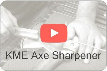 Wicked Edge Video KME Axe Sharpener