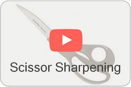 Wicked Edge Video KME Scissor Sharpening